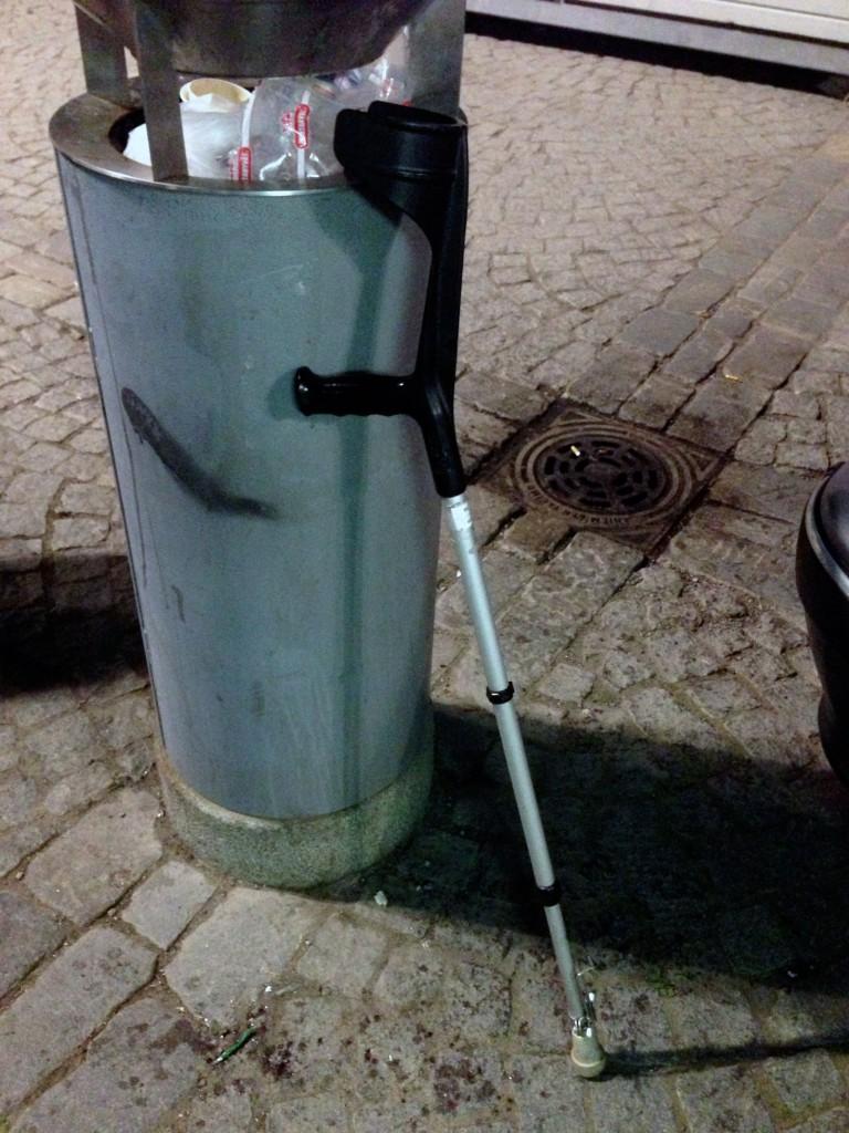 Tätä kävelykeppiä ei enää tarvita!